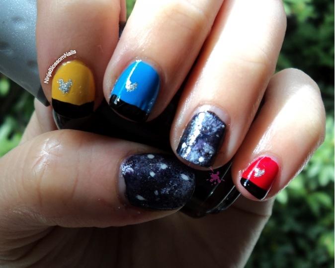 Star Trek Nails Ninjablossomnails
