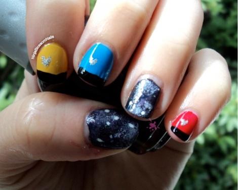Star Trek Nail Art