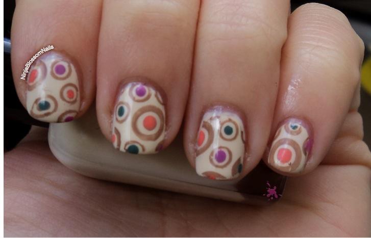 Zoya Jaqueline nail art