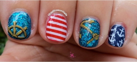 Nautical Nails 1